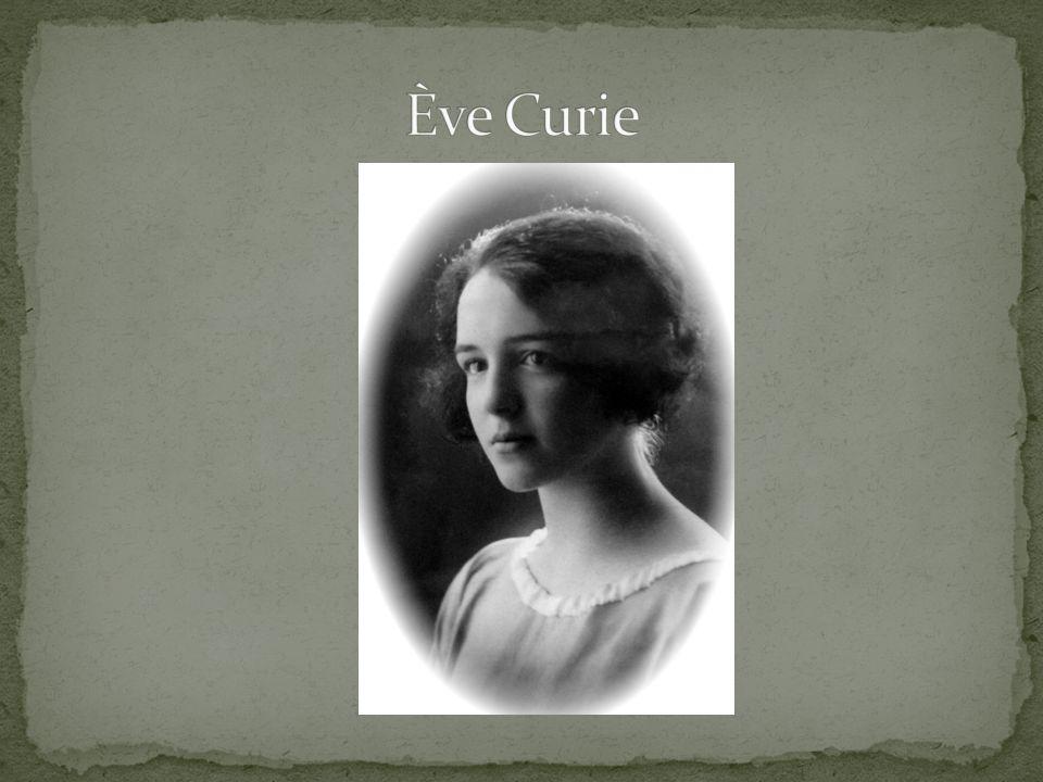 Ève Curie Labouisse (ur.
