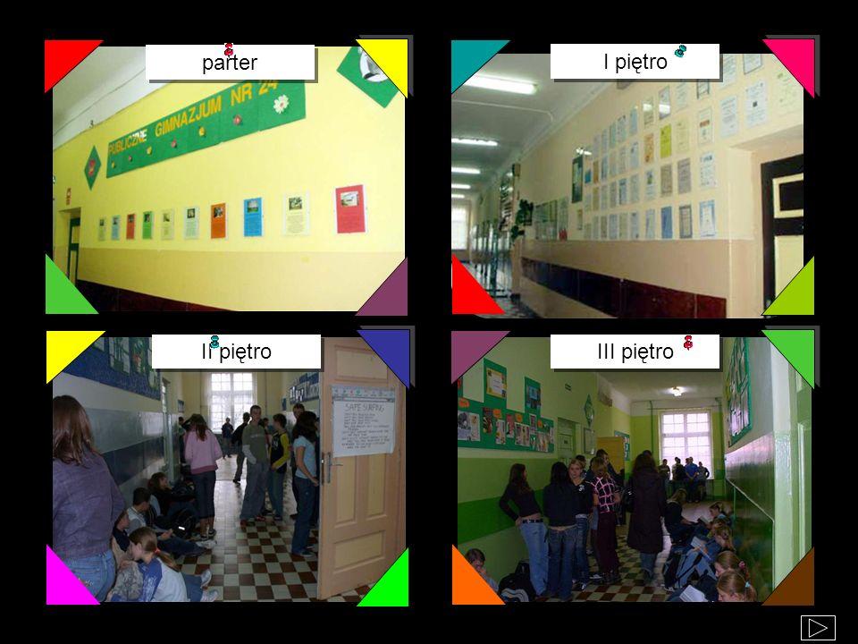 parter I piętro II piętro III piętro