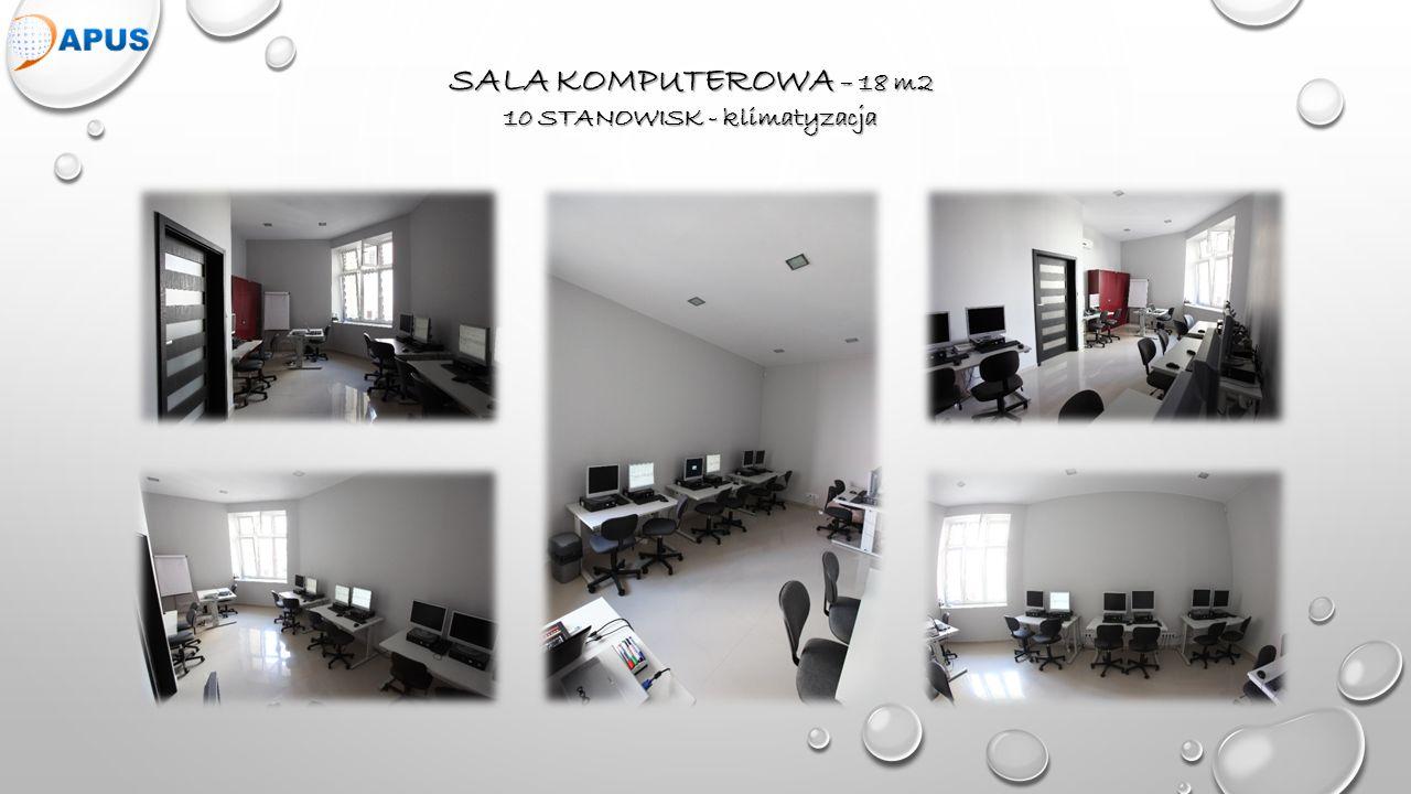 DUZA SALA 32 m2 – klimatyzacja, tablica interaktywna, projektor 20-30 osób