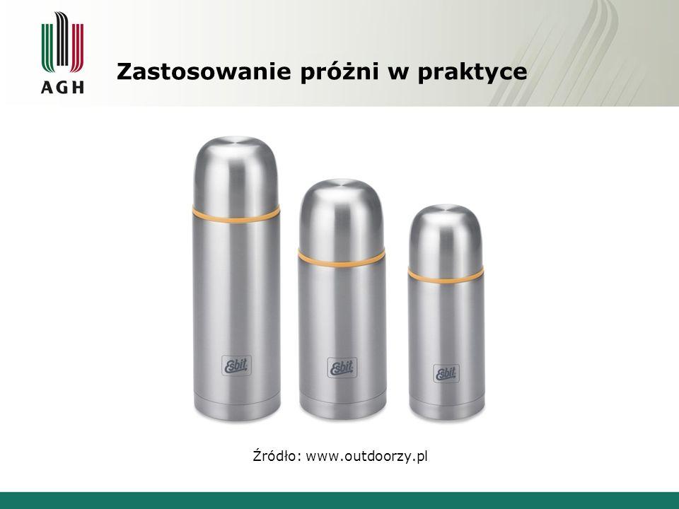 Zastosowanie próżni w praktyce Źródło: www.outdoorzy.pl