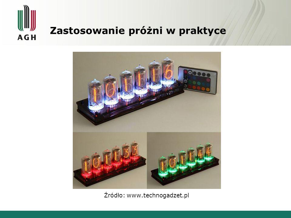 Zastosowanie próżni w praktyce Źródło: www.technogadzet.pl