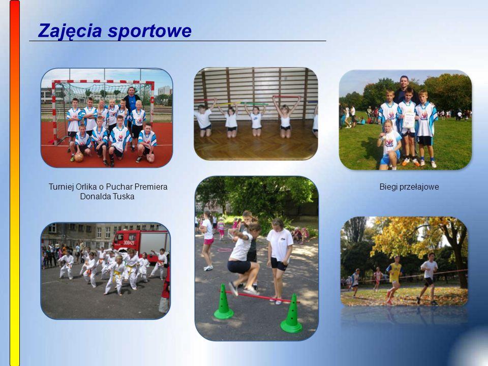 Zajęcia sportowe Biegi przełajowe Turniej Orlika o Puchar Premiera Donalda Tuska