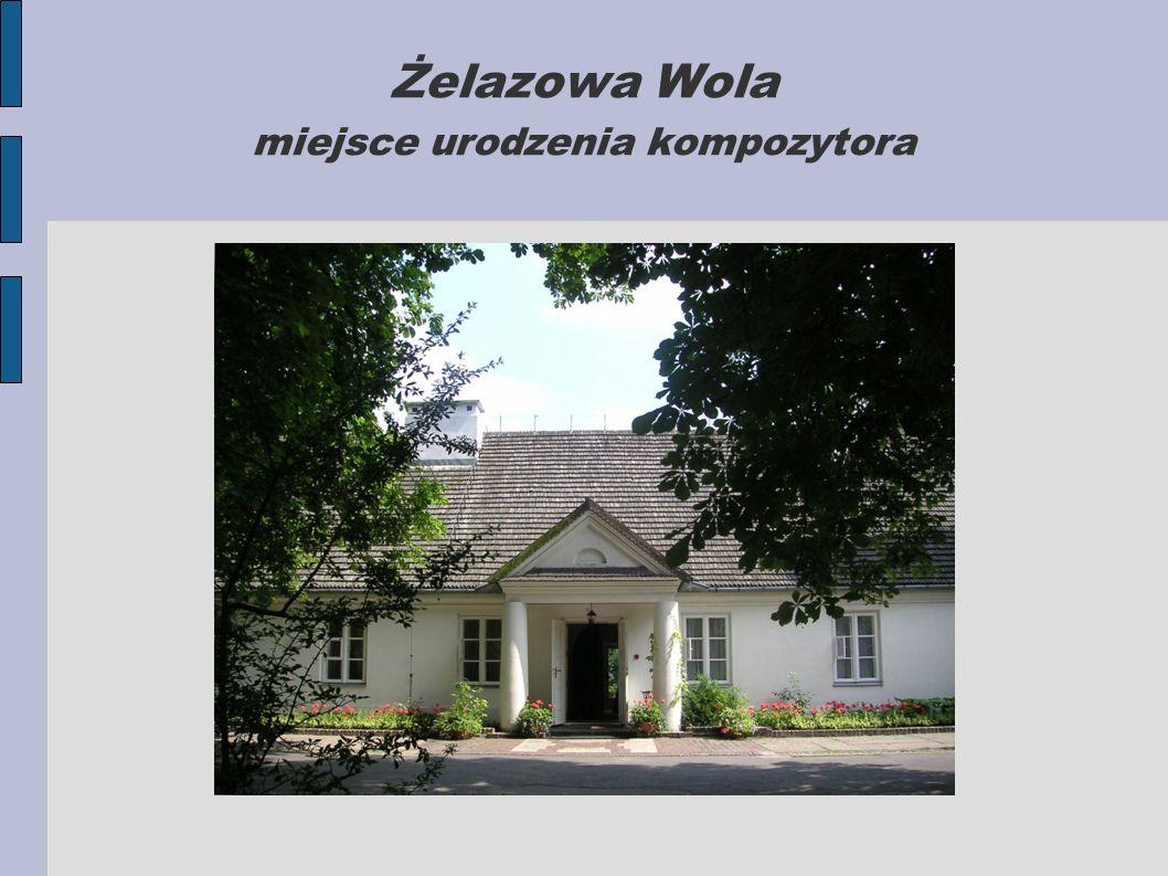 W wieku 6 lat Fryderyk uczy się gry na fortepianie u Wojciecha Żywnego