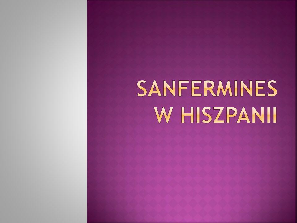 Sanfermin(es) Hiszpańskie święto ku czci św.
