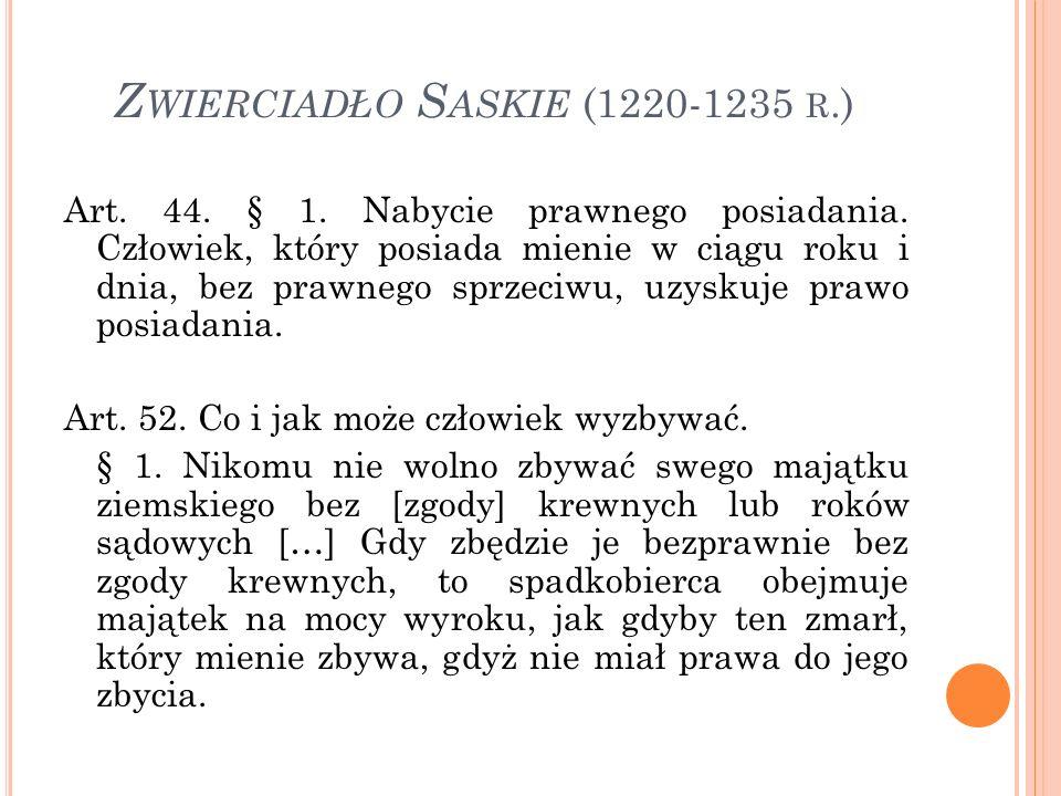 Z WIERCIADŁO S ASKIE (1220-1235 R.) § 2.