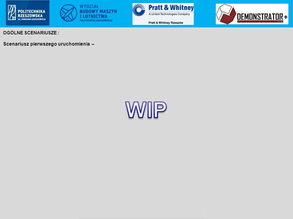 Pratt & Whitney Rzeszów S.A.. proprietary information Poland ECCN: 9E999 (not controlled according to PL & EU regulations to US) OGÓLNE SCENARIUSZE :