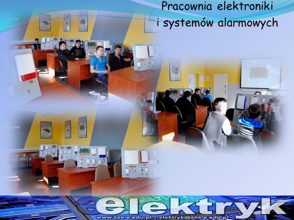 Pracownia elektroniki i systemów alarmowych