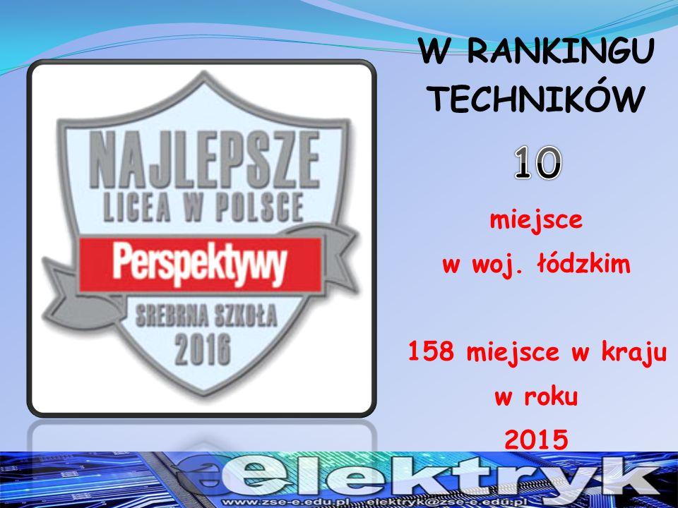 Zawody : Technikum Elektryczno - Elektroniczne Technik elektryk Technik elektronik Technik informatyk Technik teleinformatyk Technik organizacji reklamy