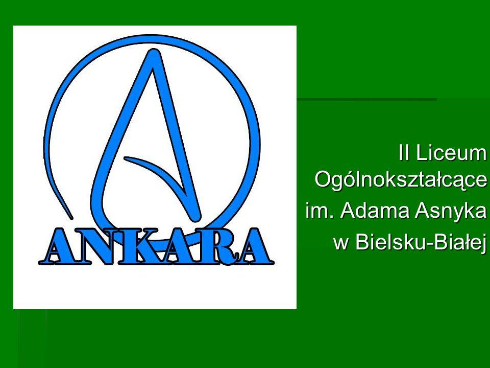 II Liceum Ogólnokształcące im. Adama Asnyka w Bielsku-Białej