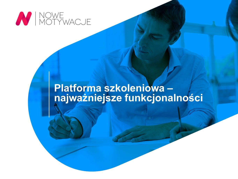 Platforma szkoleniowa – najważniejsze funkcjonalności