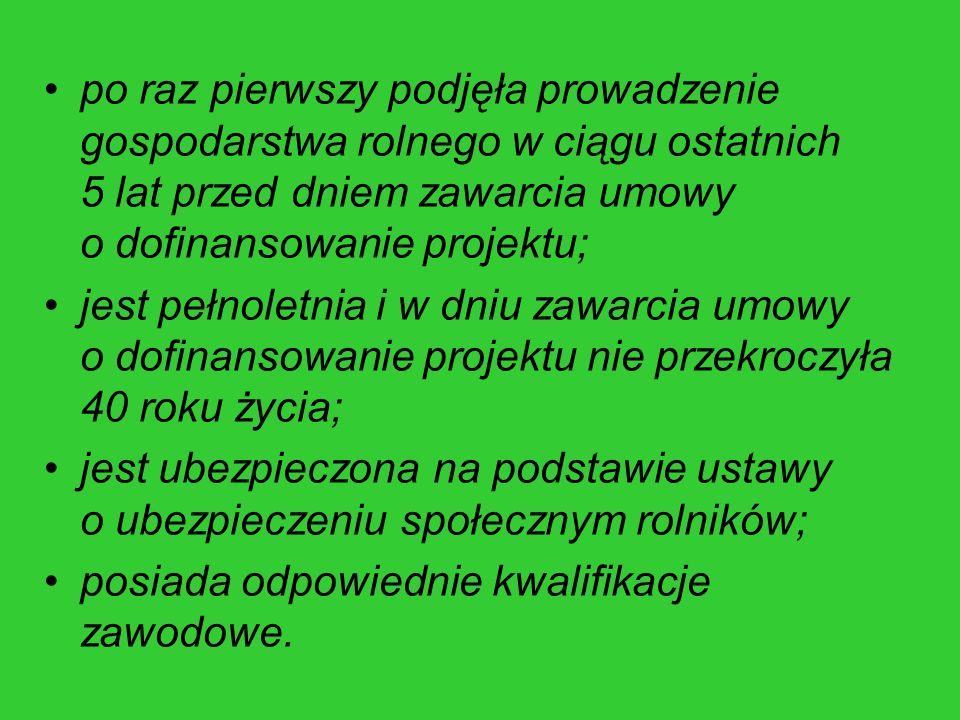 """""""Ułatwianie startu młodym rolnikom podział beneficjentów wg płci (dokonane płatności)"""