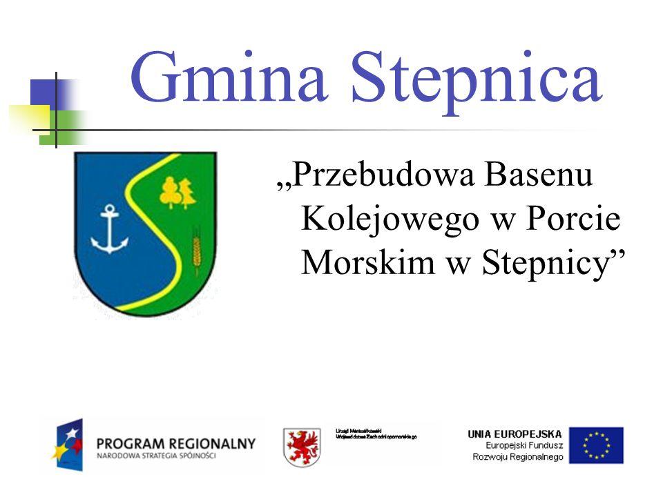 """Gmina Stepnica """"Przebudowa Basenu Kolejowego w Porcie Morskim w Stepnicy"""
