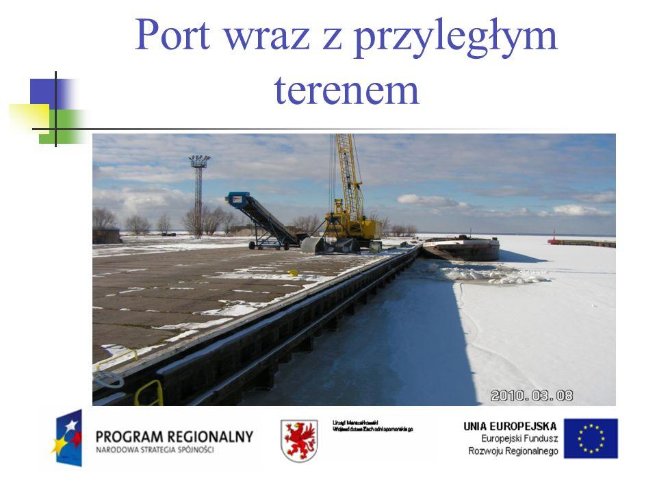 Port wraz z przyległym terenem
