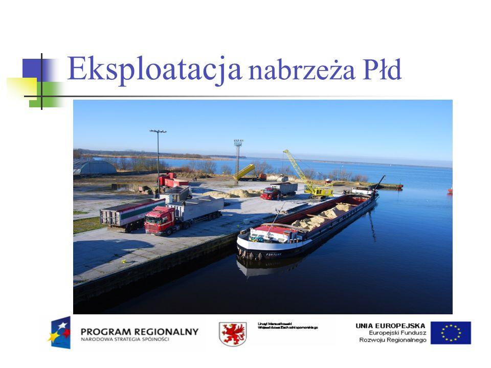 Eksploatacja nabrzeża Płd