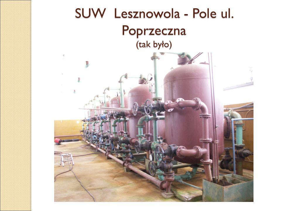 SUW Lesznowola - Pole ul. Poprzeczna (tak było)