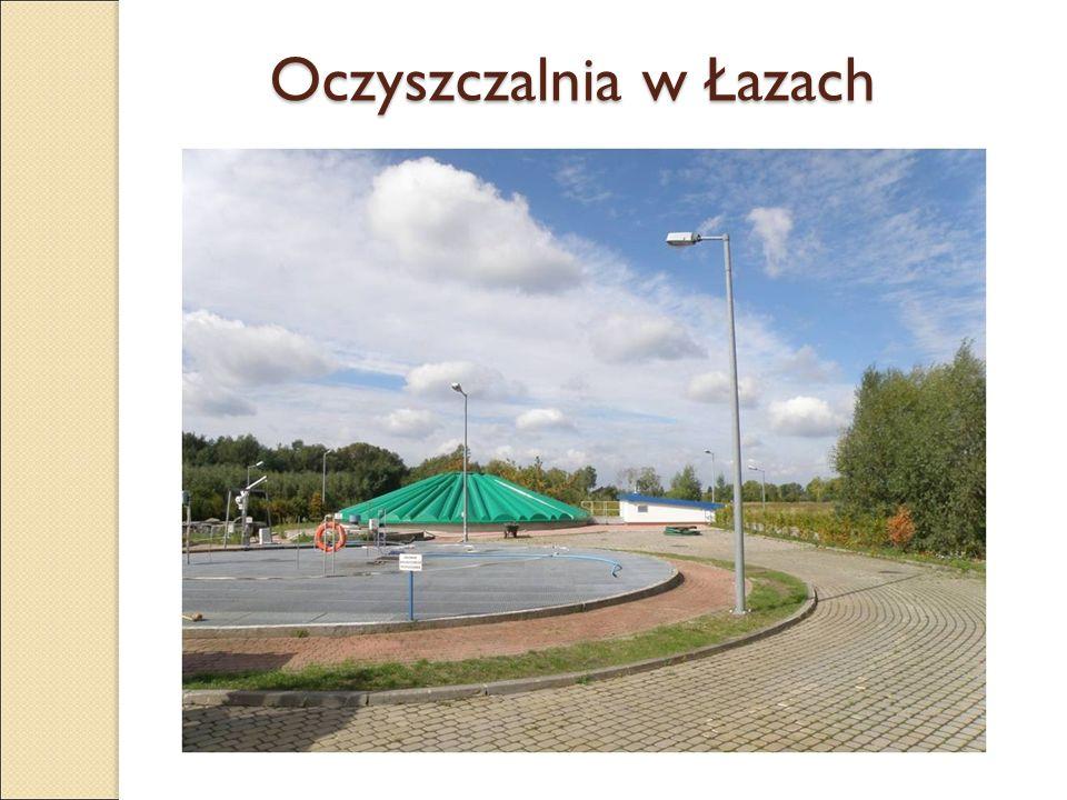 Oczyszczalnia w Łazach