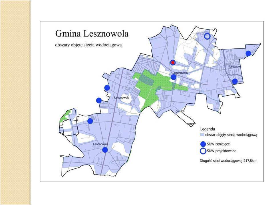 Stacja uzdatniania wody Lesznowola PGR ul.