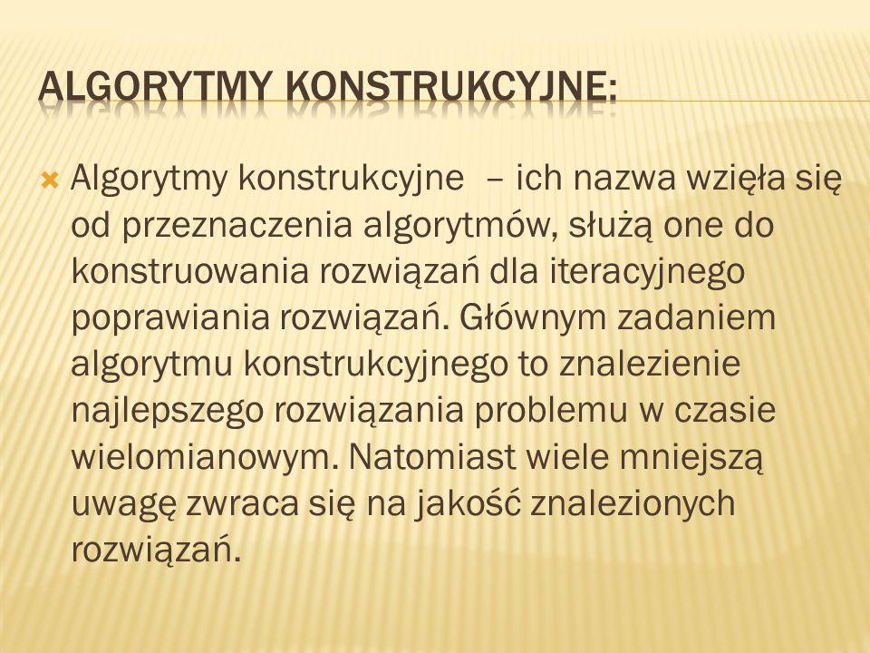 Metaheurystkę i algorytm pszczeli (ang.