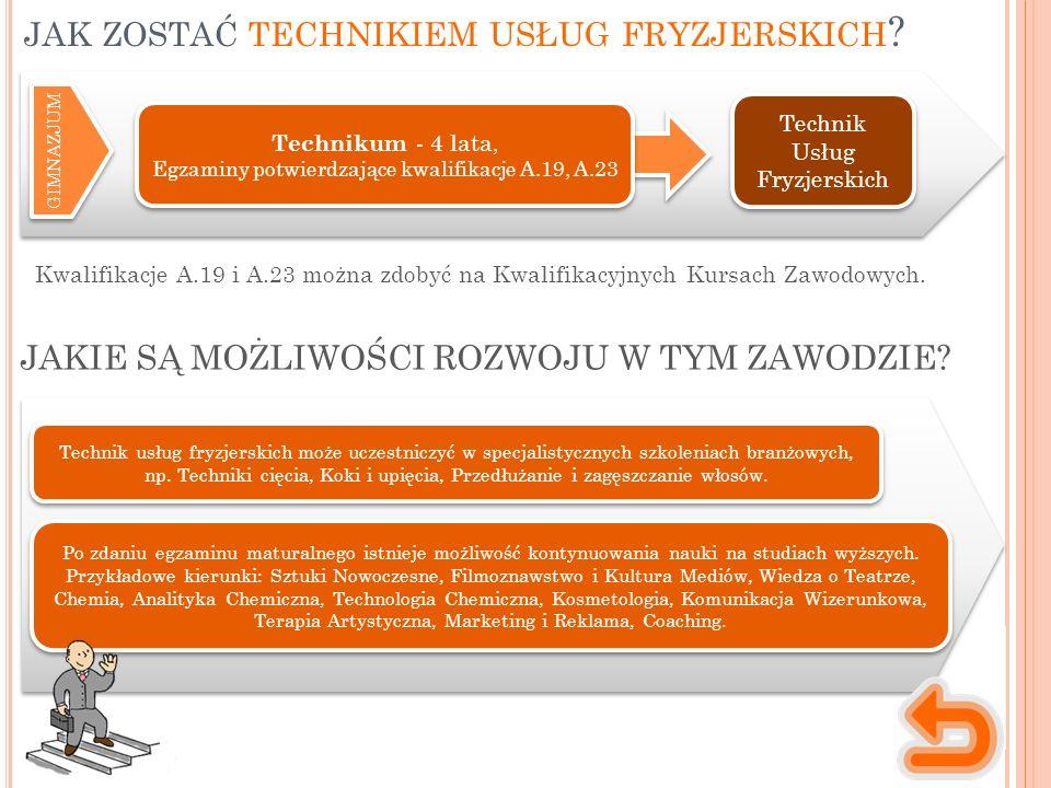 Kwalifikacje A.19 i A.23 można zdobyć na Kwalifikacyjnych Kursach Zawodowych.