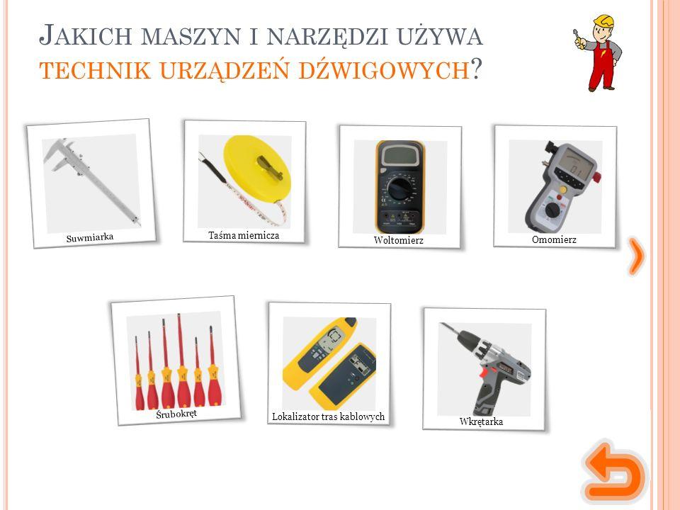 M ASZYNY, NARZĘDZIA, MATERIAŁY narzędzie służące do pomiaru długości (grubości, średnicy itd.) z dokładnością do 0,1 mm lub większą.