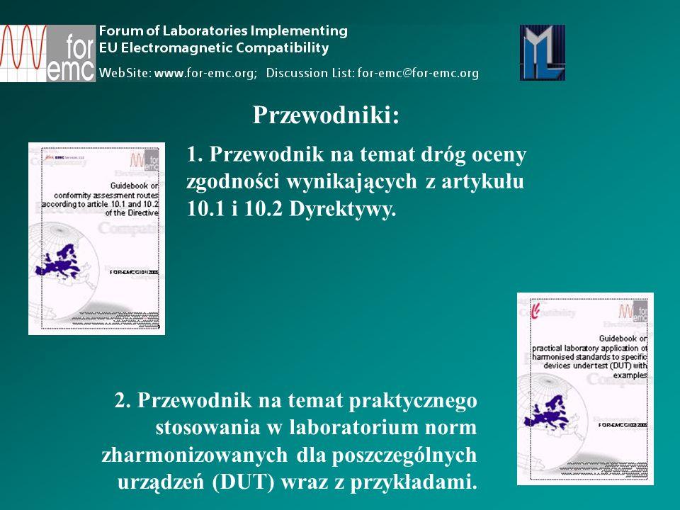 1.Przewodnik na temat dróg oceny zgodności wynikających z artykułu 10.1 i 10.2 Dyrektywy.