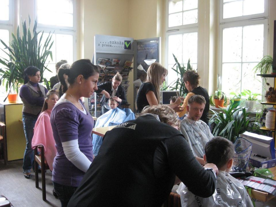 Odwiedziły nas panie fryzjerki– 15.05.