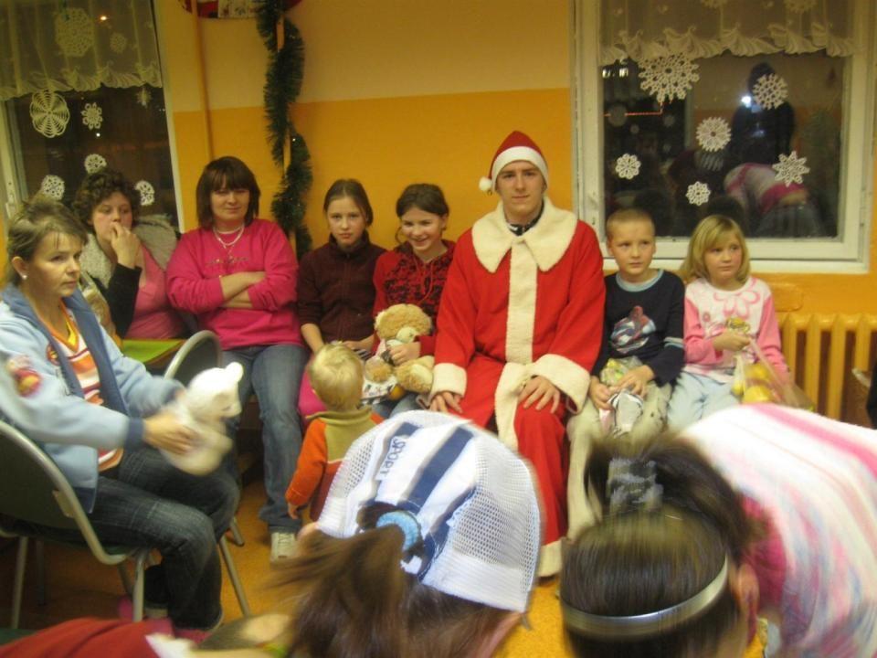 Święty Mikołaj w Schronisku dla samotnej matki – 27.01. STYCZEŃ