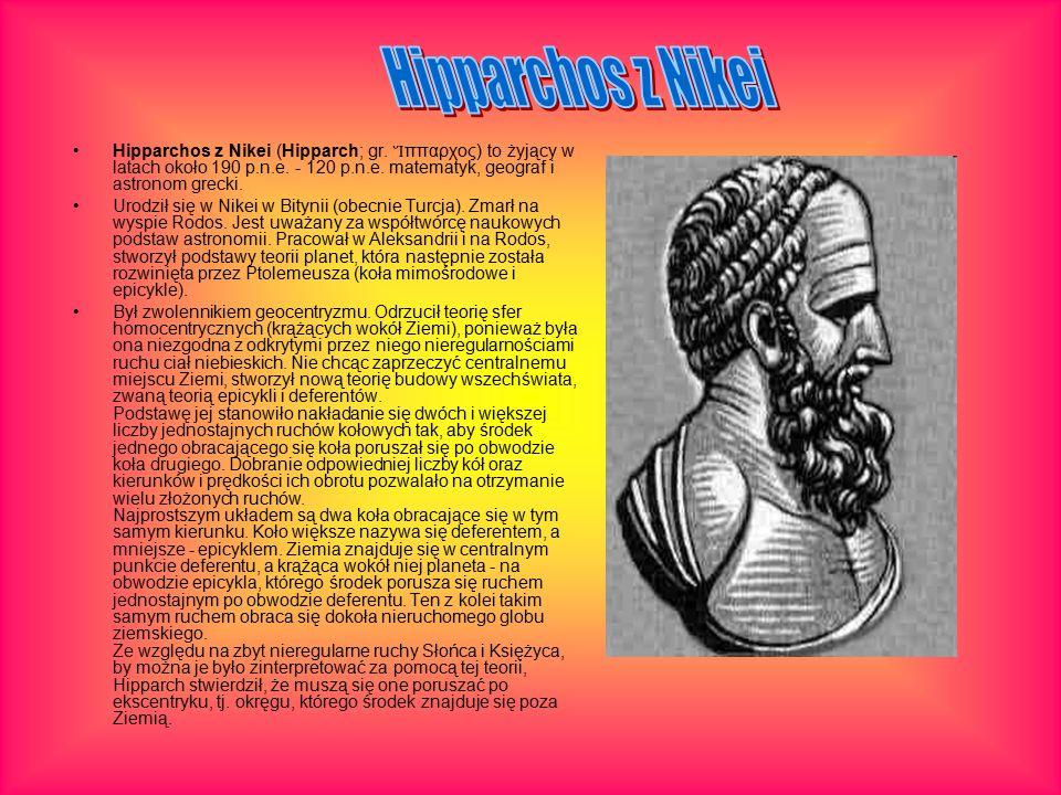 Hipparchos z Nikei (Hipparch; gr. Ἵ ππαρχος) to żyjący w latach około 190 p.n.e.