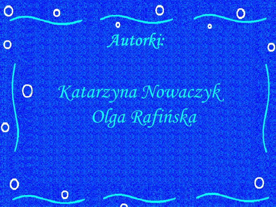 Autorki: Katarzyna Nowaczyk Olga Rafińska