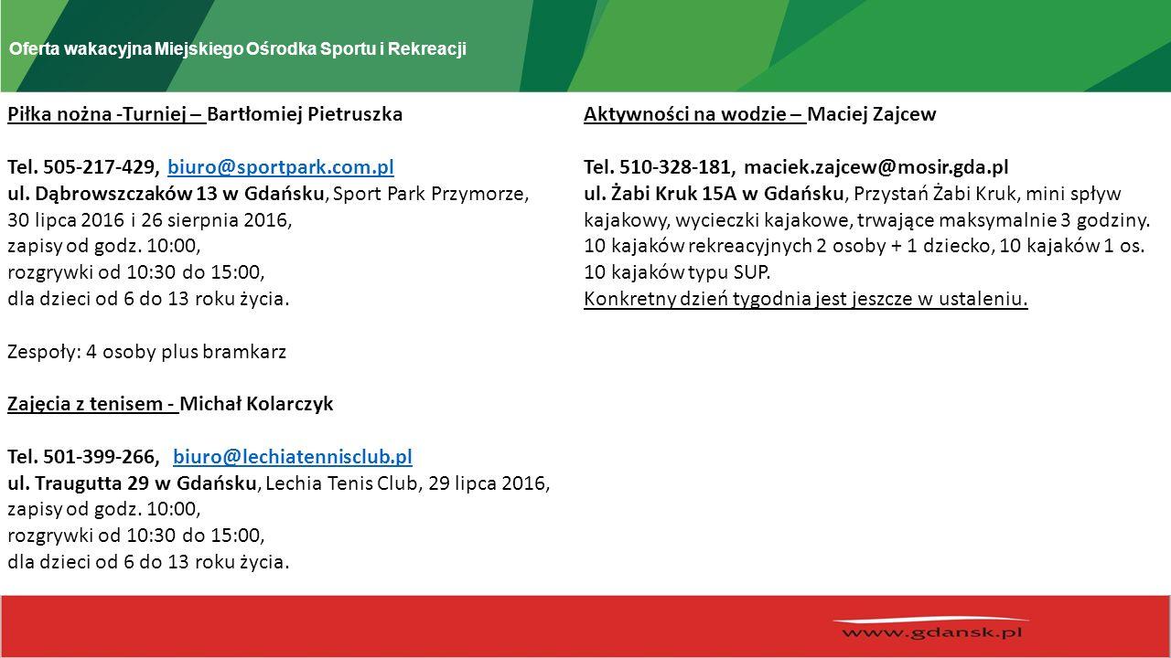 Miejski Ośrodek Sportu i Rekreacji w Gdańsku