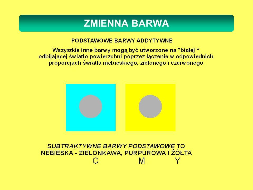 ZMIENNA BARWA