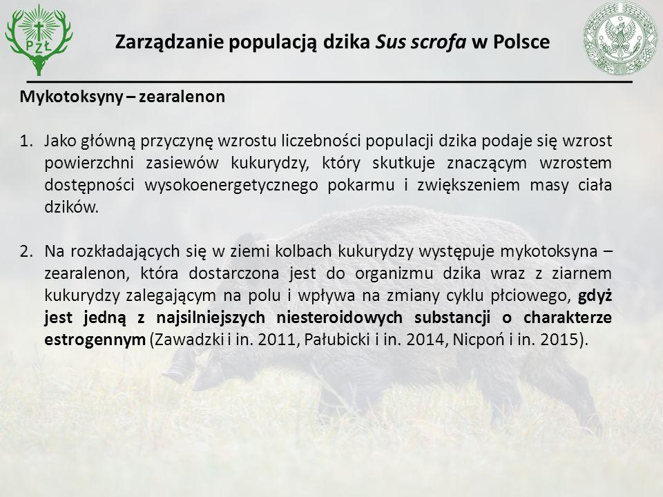 Wnioski 1.Zmieniająca się struktura upraw rolnych, w szczególności wzrost udziału kukurydzy wpływa istotnie na stan populacji dzika w Polsce i poziom szkód wyrządzonych przez dziki w uprawach rolnych.