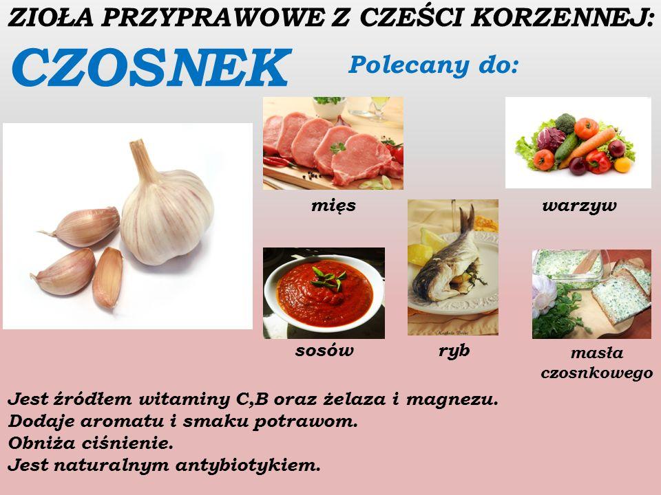ZIOŁA PRZYPRAWOWE Z NASION: CZARNUSZKA Polecana do : serów pieczywa sałatek Ma działanie przeciwbakteryjne i przeciwzapalne.