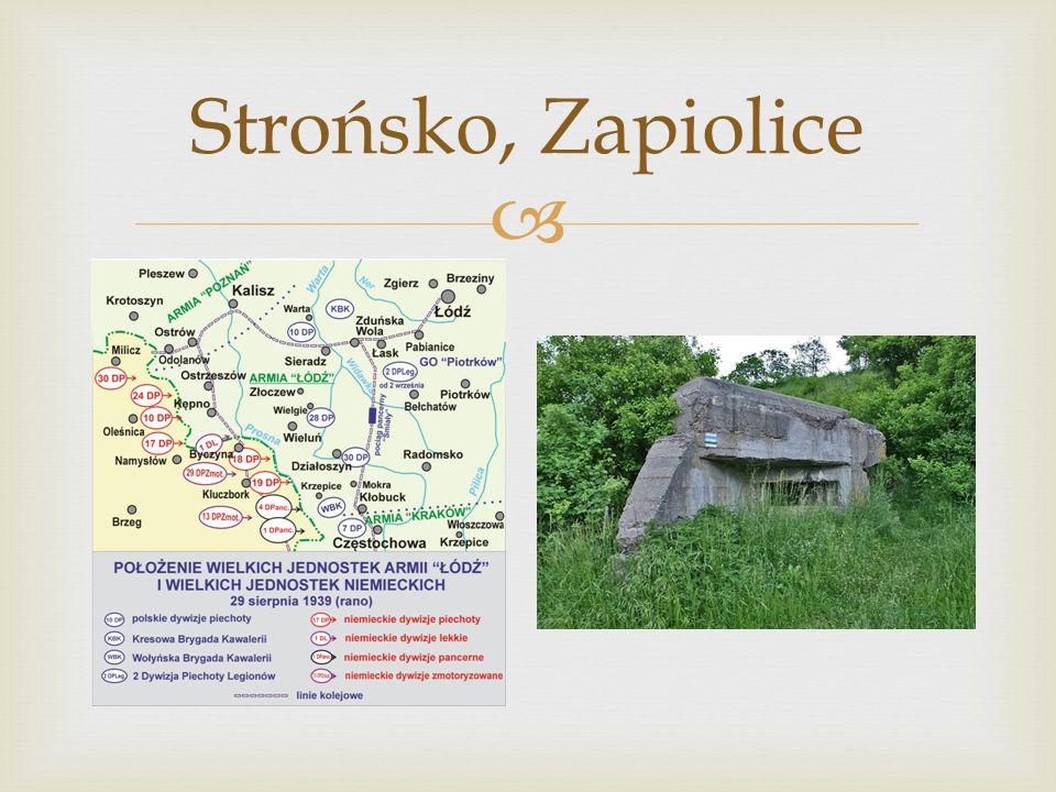  Strońsko, Zapiolice