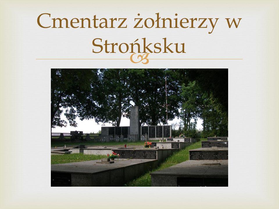 Cmentarz żołnierzy w Strońksku