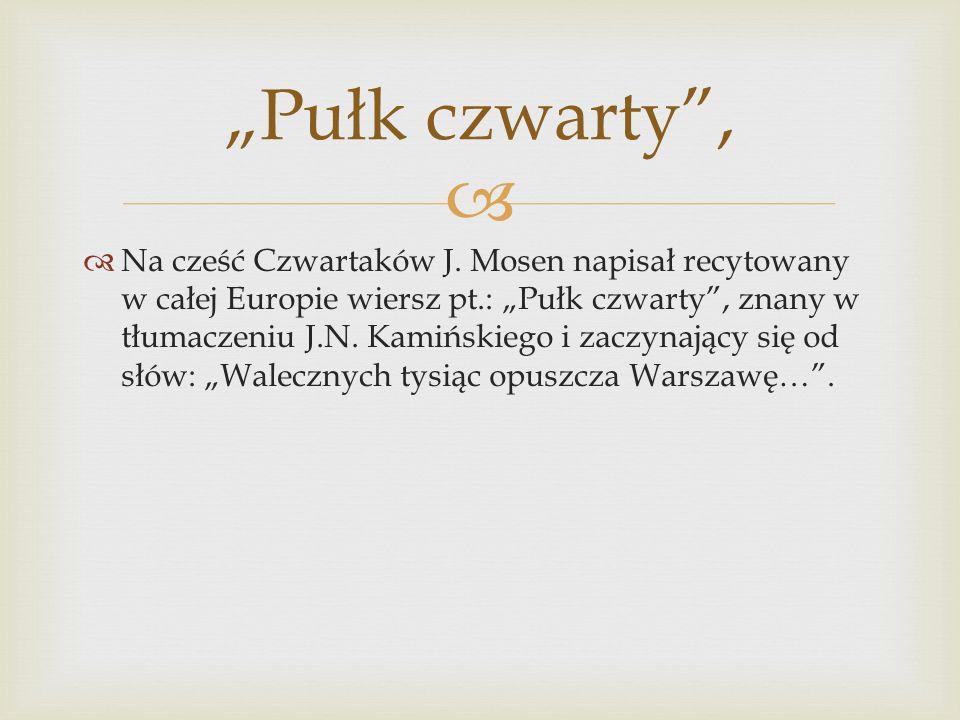   Na cześć Czwartaków J.