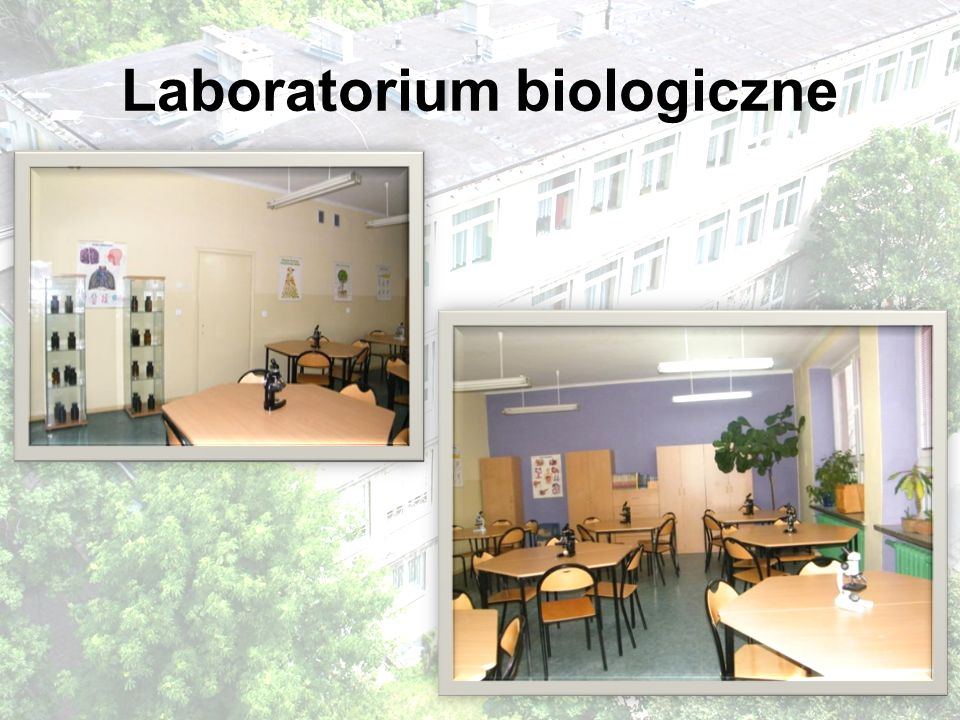 Laboratorium biologiczne