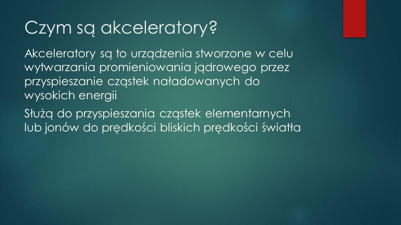 Czym są akceleratory.