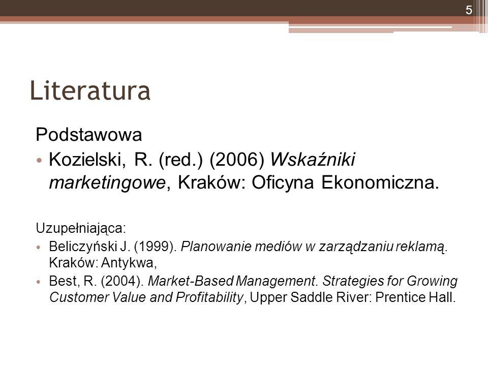 Literatura Podstawowa Kozielski, R.