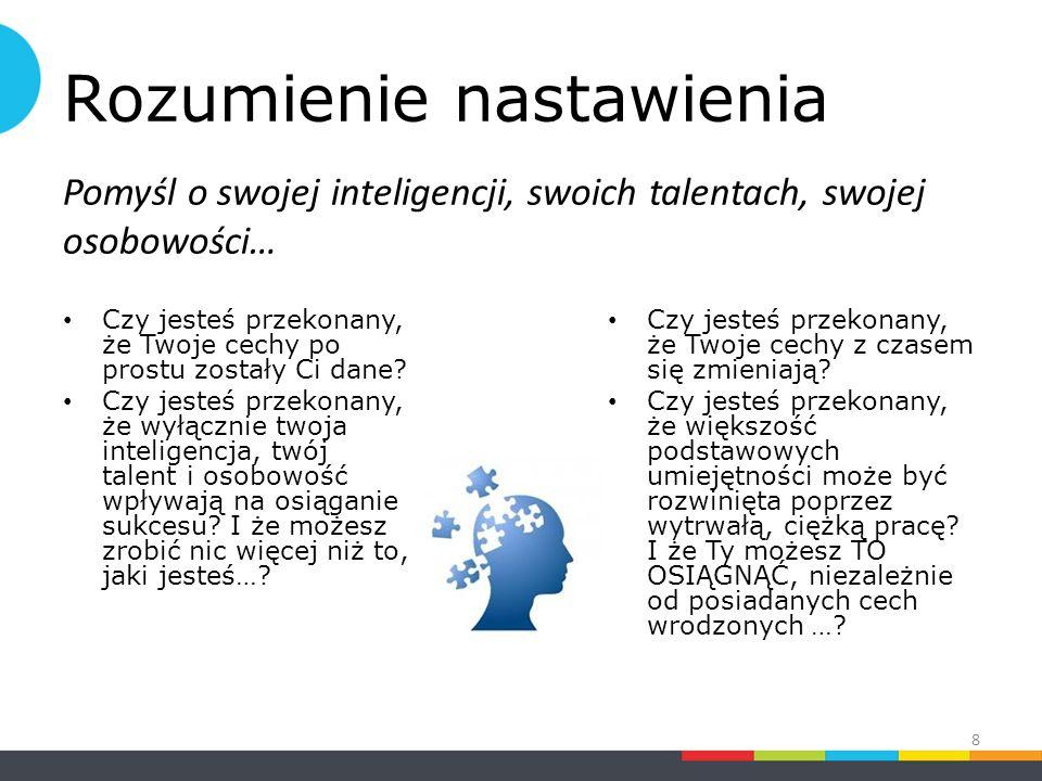 Krytyczne a kreatywne nastawienie część 3 z 4 Krytyczne nastawienie Ocenia pomysły Postrzega niepowiązane wydarzenia Postrzega luki i niespójności jako porażki Dostrzega złe odpowiedzi Rozwija pomysły Postrzega powiązania Postrzega luki i niespójności jako pomysły Dostrzega złe pytania 39 Kreatywne nastawienie