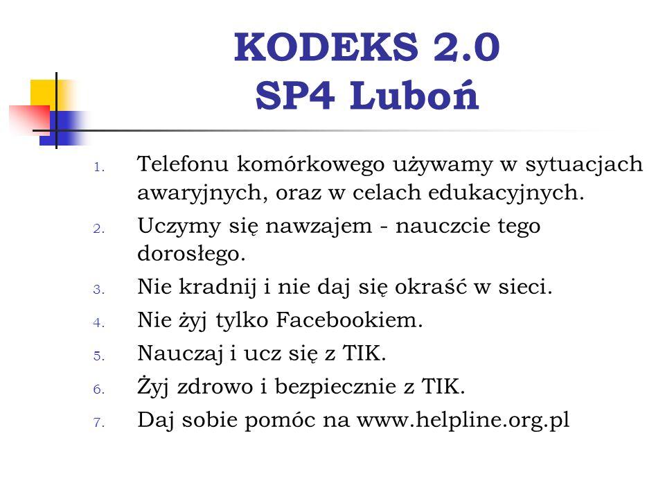 KODEKS 2.0 SP4 Luboń 1.