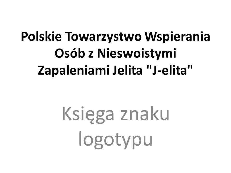 Polskie Towarzystwo Wspierania Osób z Nieswoistymi Zapaleniami Jelita J-elita Księga znaku logotypu