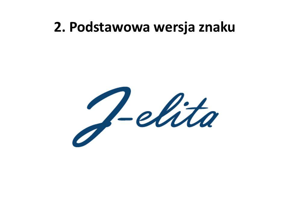 2. Podstawowa wersja znaku