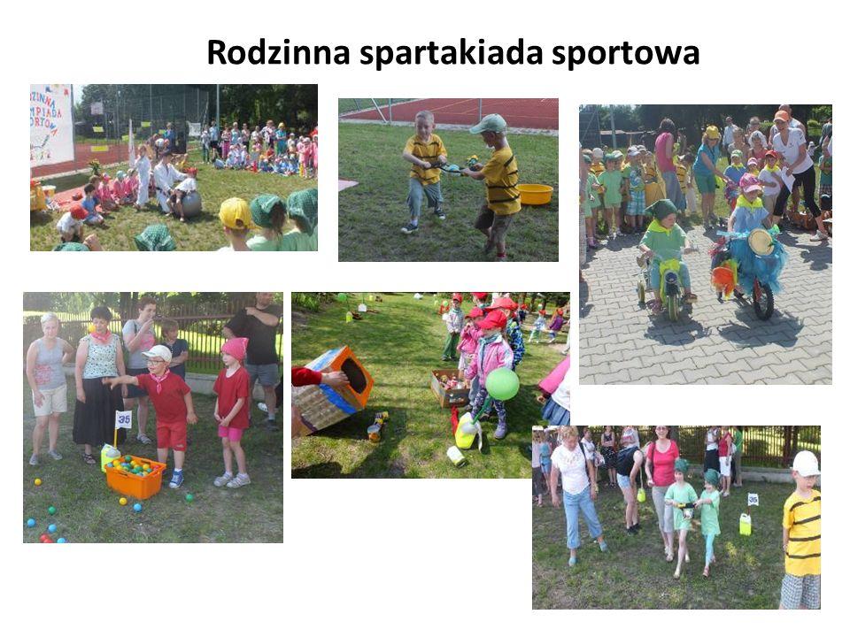 Rodzinna spartakiada sportowa