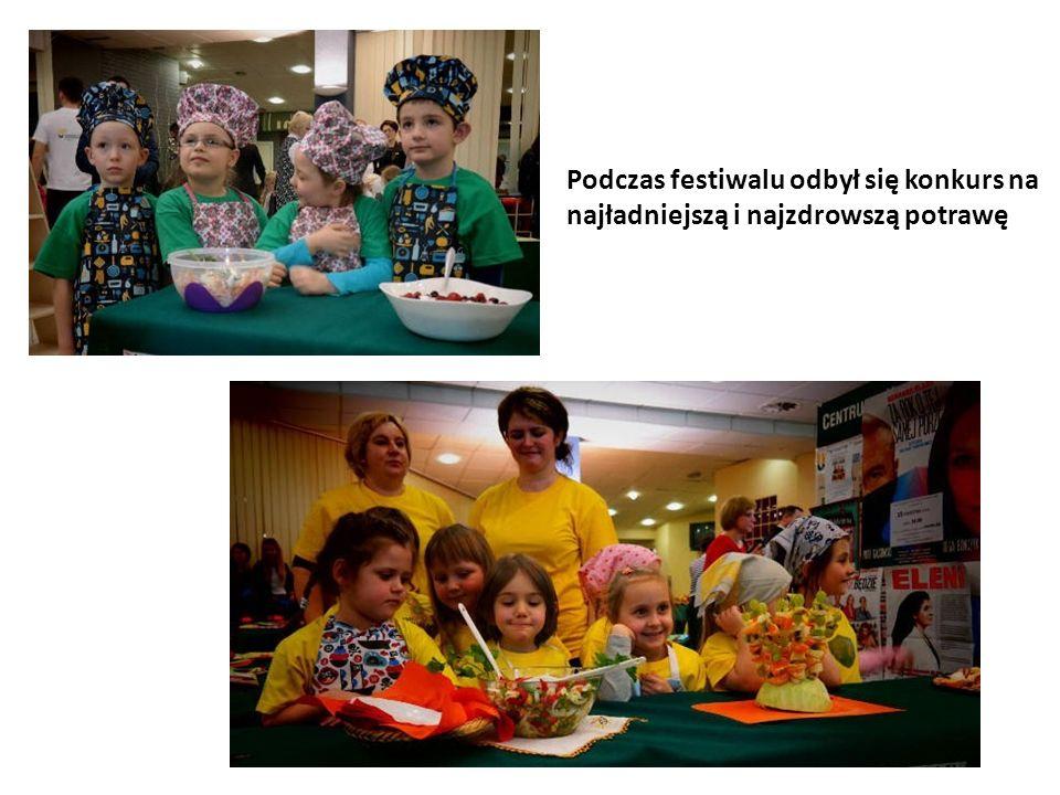 Podczas festiwalu odbył się konkurs na najładniejszą i najzdrowszą potrawę