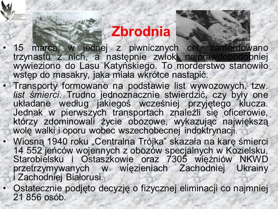 Wniosek o rozstrzelanie polskich jeńców z odręczną aprobatą Józefa Stalina.