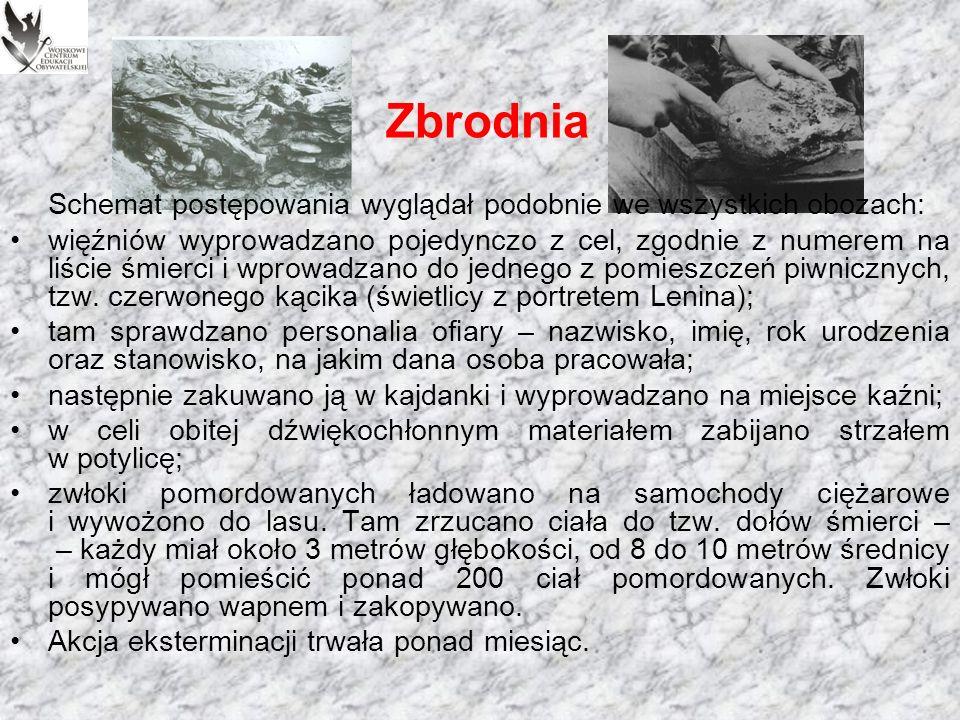 Wyciąg z protokołu posiedzenia Biura Politycznego KC WKP(b), na którym zatwierdzono decyzję o wymordowaniu polskich oficerów.