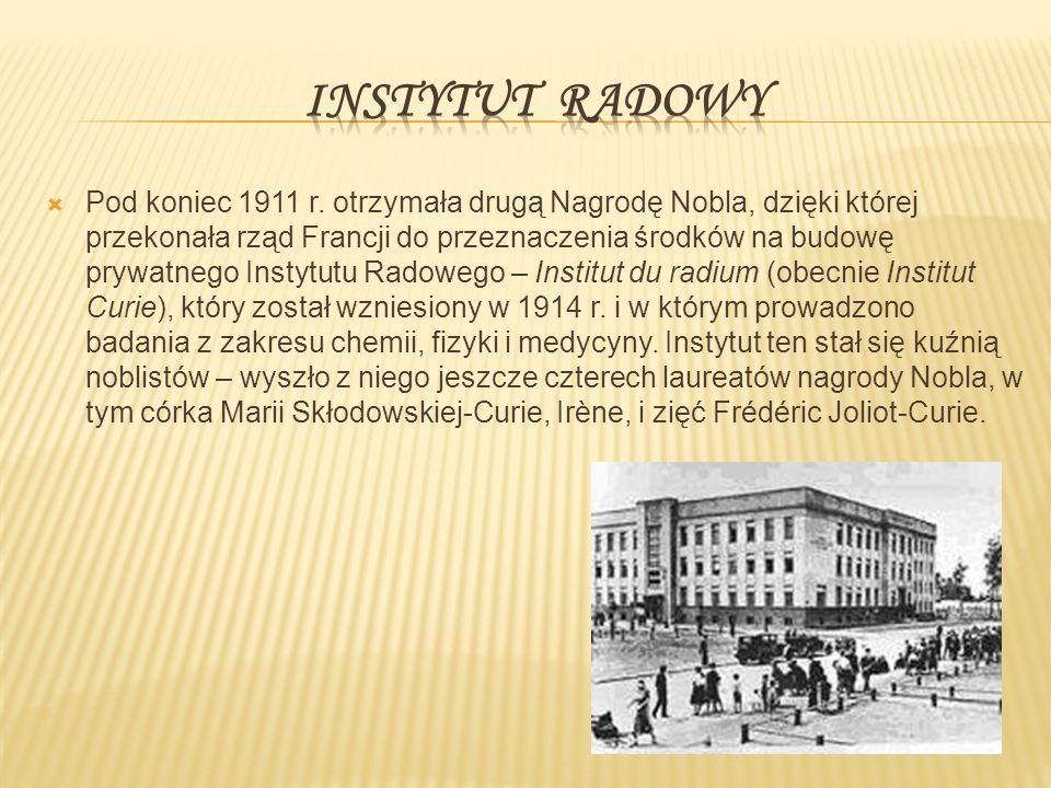  Pod koniec 1911 r.