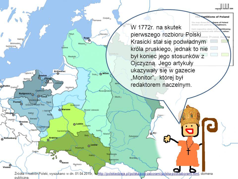 Od tego czasu, Ignacy Krasicki rzadko bywał w Warszawie.