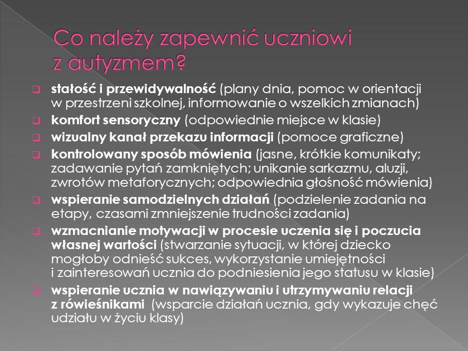  Szacunkowo w Polsce podobnie jak w całej Europie zaburzenie to występuje u 1 na 345 uczniów.